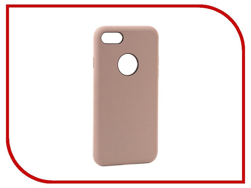 Аксессуар Чехол Rock Touch Series Silicone для iPhone 7 RPC1153 Light Purple аксессуар чехол rock elite series для iphone 7 plus black