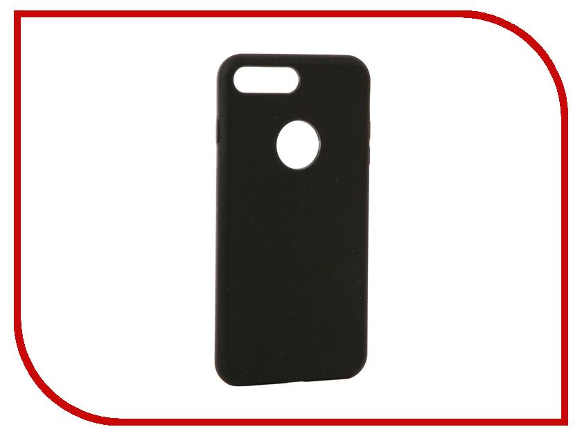 Аксессуар Чехол Rock Touch Series Silicone для iPhone 7 Plus RPC1153 Black аксессуар чехол rock elite series для iphone 7 plus black