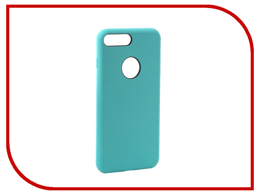 Аксессуар Чехол Rock Touch Series Silicone для iPhone 7 Plus RPC1153 Light Blue аксессуар чехол rock elite series для iphone 7 plus black
