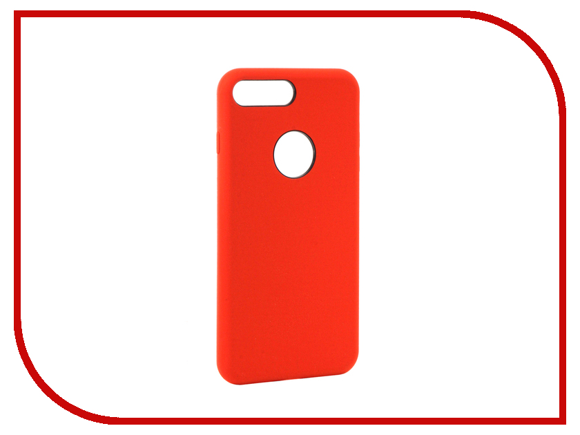 Аксессуар Чехол Rock Touch Series Silicone для iPhone 7 Plus RPC1153 Red