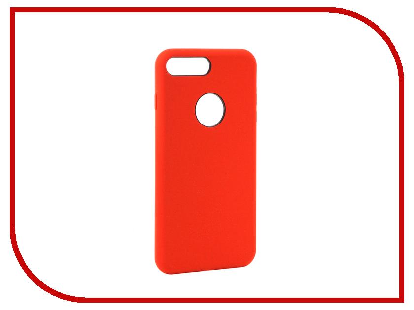 все цены на  Аксессуар Чехол Rock Touch Series Silicone для iPhone 7 Plus RPC1153 Red  онлайн