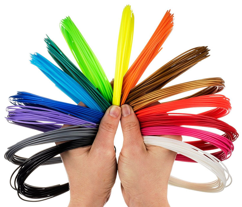Аксессуар U3Print PLA-пластик 10 цветов