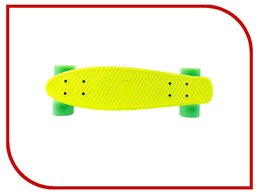 Скейт Maxcity MC Plastic Board small Yellow