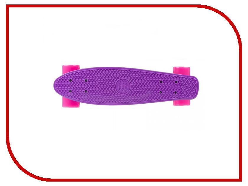 Скейт Maxcity MC Plastic Board small Violet цена