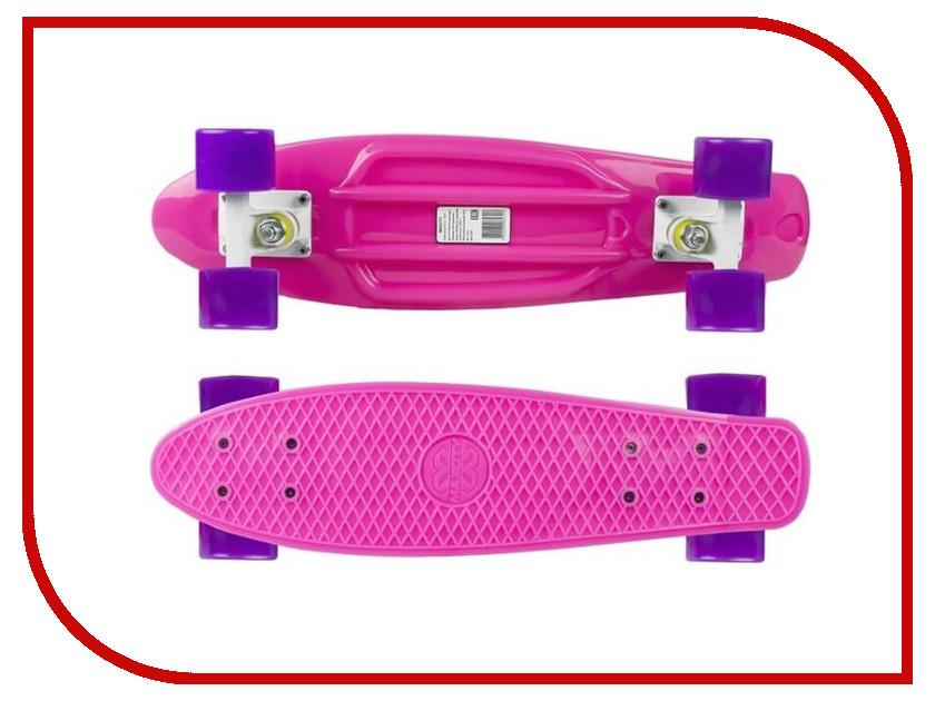 Фото - Скейт Maxcity MC Plastic Board small Pink скейтборд maxcity mc king kong