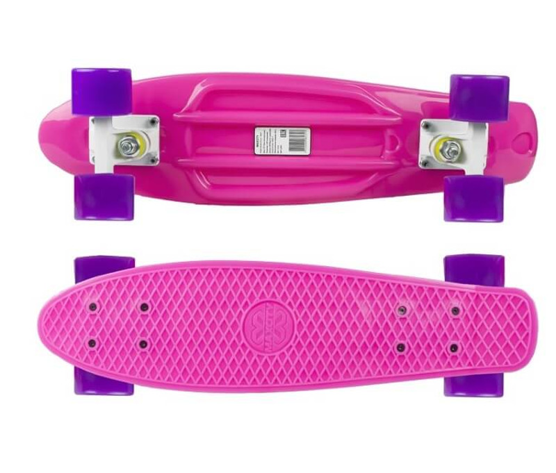 Скейт Maxcity MC Plastic Board small Pink