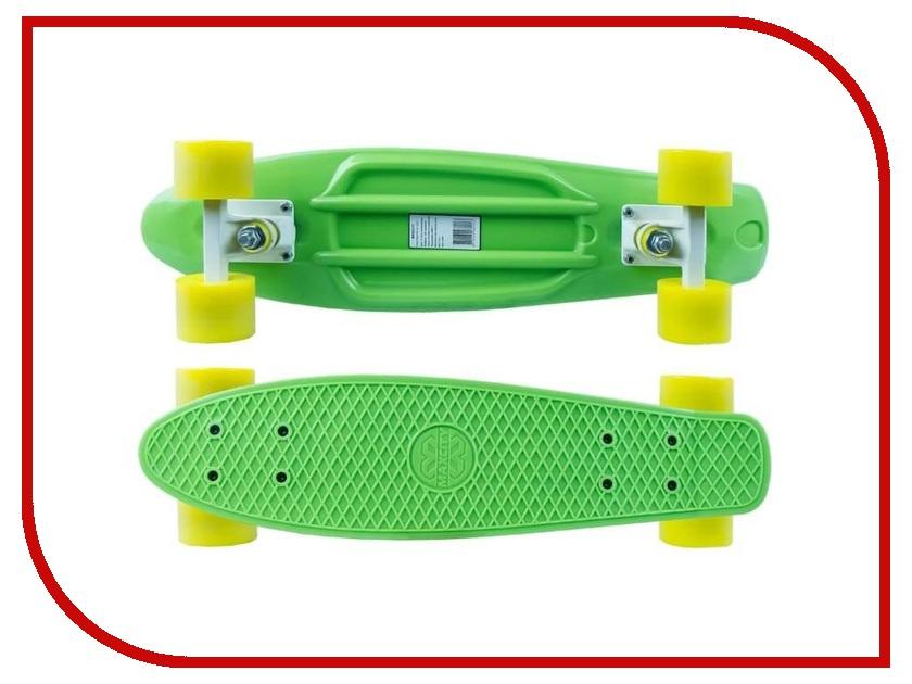 Фото - Скейт Maxcity MC Plastic Board small Green скейтборд maxcity mc king kong