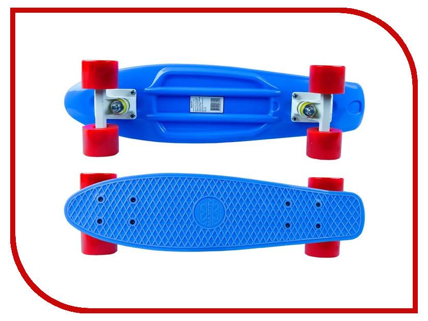 Фото - Скейт Maxcity MC Plastic Board small Blue скейтборд maxcity mc king kong