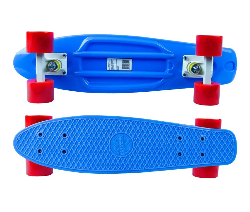 Скейт Maxcity MC Plastic Board small Blue