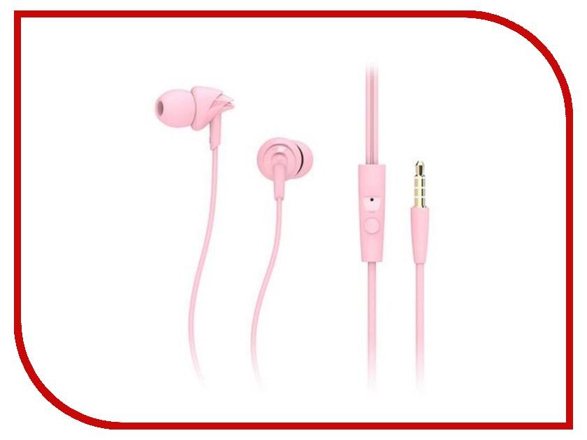 Наушники Rock Y1 Pink RAU0526 аксессуар rock y 3 5mm rau0516 golden