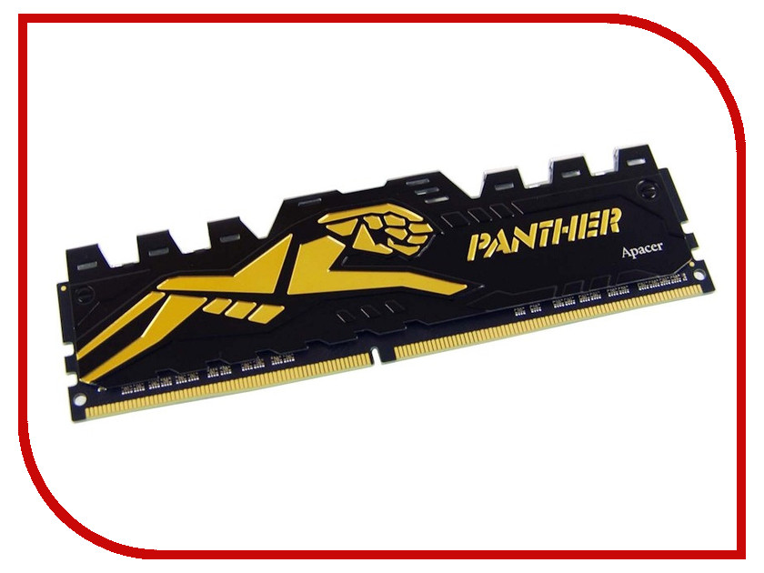 Модуль памяти Apacer Panther Golden DIMM DDR4 2133HMz PC4-17000 CL15 - 8Gb EK.08G2R.GDC star wars пробивной 3d мини светильник хан соло