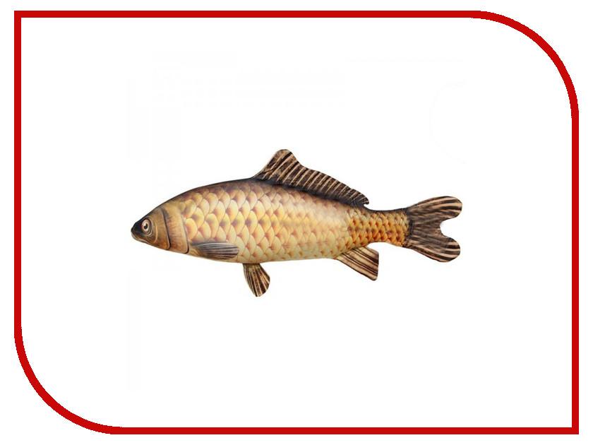 Игрушка антистресс Штучки к которым тянутся ручки Рыба Сазан гигантская 15аси51гив плюшка трогательная штучки к которым тянутся ручки
