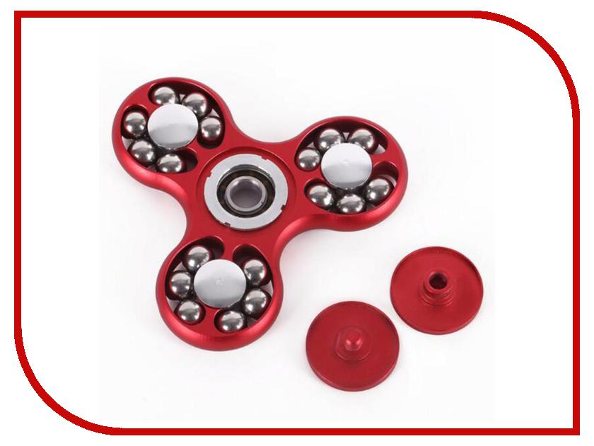 Спиннер Omlook Metal Balls Red