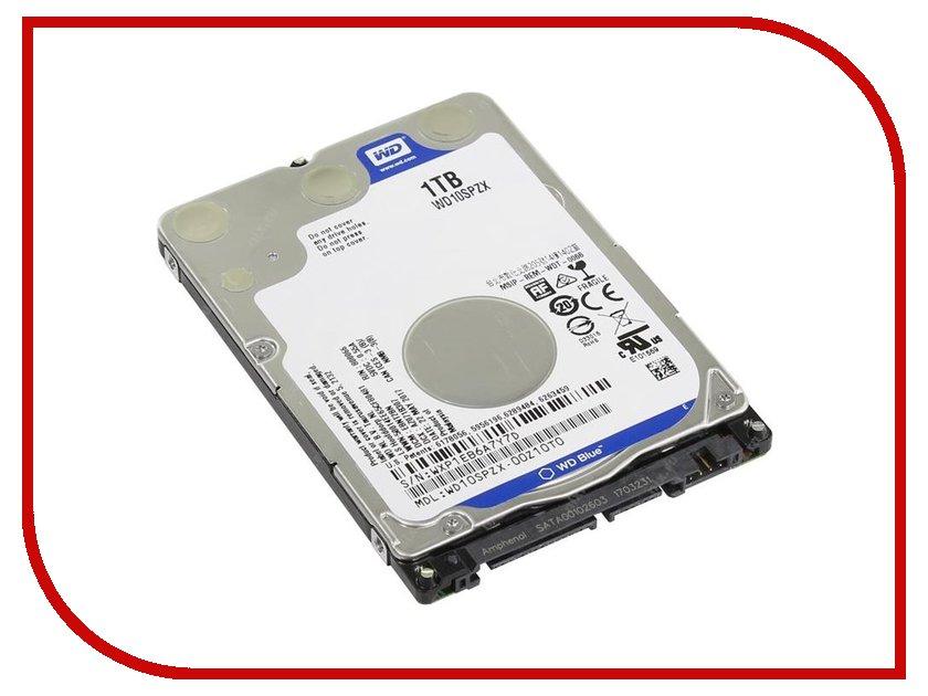 Жесткий диск 1Tb - Western Digital WD Blue WD10SPZX wd 1tb
