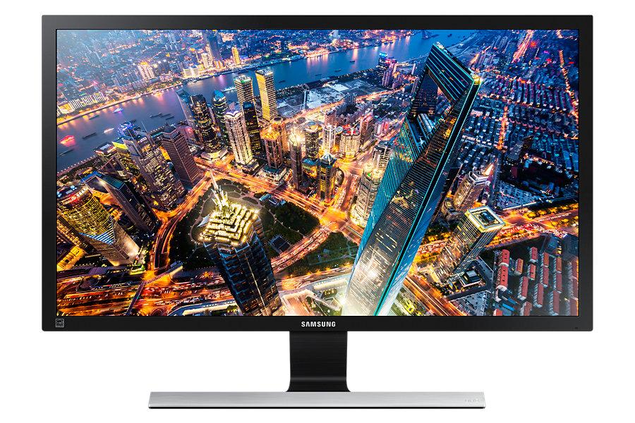 Монитор Samsung U28E590D Glossy Выгодный набор + серт. 200Р!!! монитор samsung c24f390fhi glossy