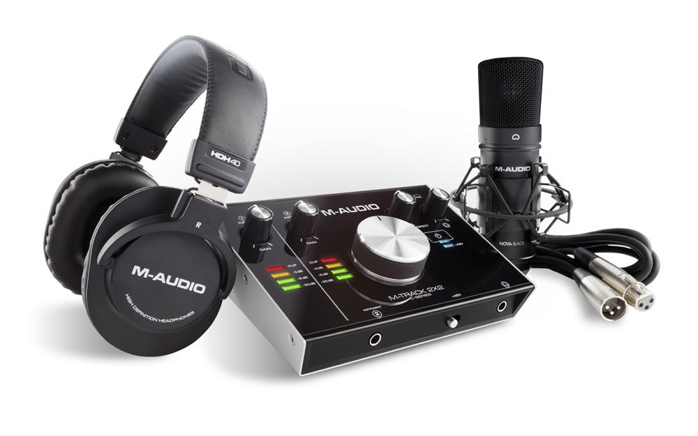 купить Комплект для звукозаписи M-Audio M-Track 2X2 Vocal Studio Pro дешево