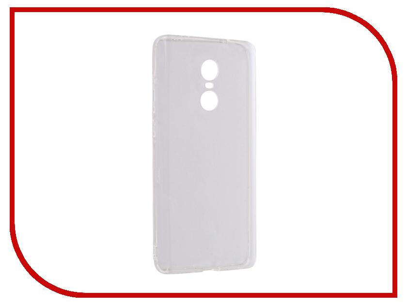 Аксессуар Чехол Xiaomi Redmi Note 4X DF Silicone Super Slim xiCase-14 чехол клип кейс df xicase 14 для xiaomi redmi note 4x прозрачный