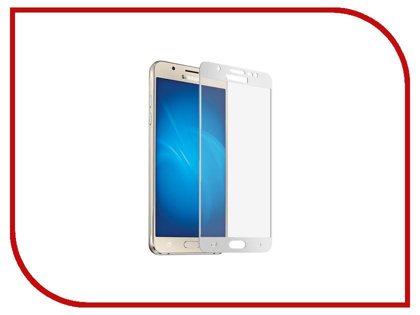 Аксессуар Закаленное стекло Samsung Galaxy J5 (2017) DF Full Screen sColor-22 White аксессуар закаленное стекло samsung galaxy a3 2017 df fullscreen scolor 15 black