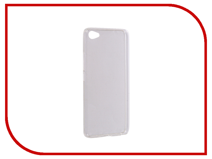 Аксессуар Чехол Meizu U20 iBox Crystal Silicone Transparent аксессуар чехол htc desire 825 ibox crystal grey
