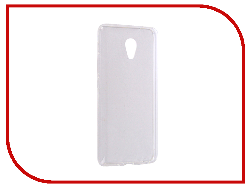 Аксессуар Чехол Meizu M3E iBox Crystal Silicone Transparent аксессуар чехол nokia 5 ibox crystal silicone transparent
