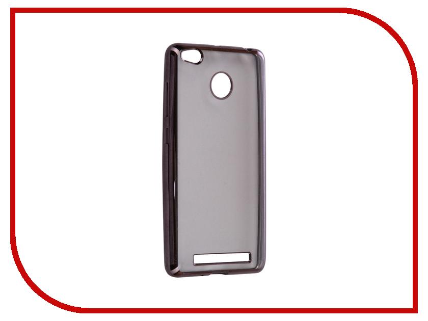 цена на Аксессуар Чехол Xiaomi Redmi 3/3s/3 Pro iBox Blaze Silicone Black frame