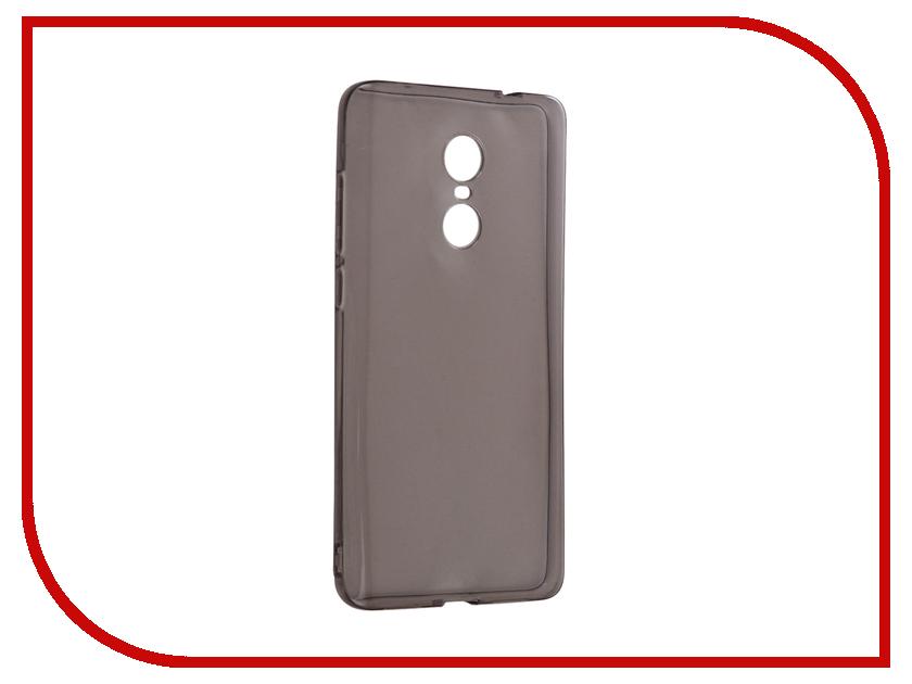Аксессуар Чехол Xiaomi Redmi Note 4X iBox Crystal Silicone Grey аксессуар чехол xiaomi redmi 3 3 pro ibox crystal grey