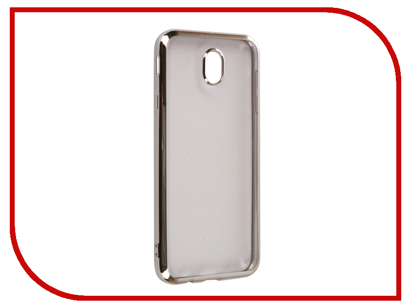 Аксессуар Чехол Samsung Galaxy J7 2017 iBox Blaze Silicone Silver frame аксессуар чехол xiaomi redmi 3 3s 3 pro ibox blaze silicone gold frame