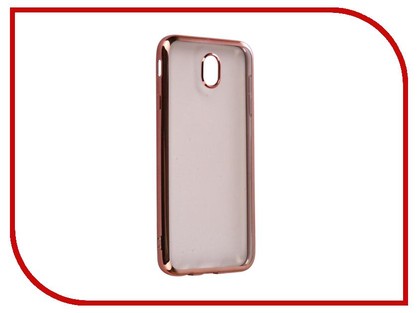 Аксессуар Чехол Samsung Galaxy J7 2017 iBox Blaze Silicone Pink frame 3d головоломка бабочка 90122