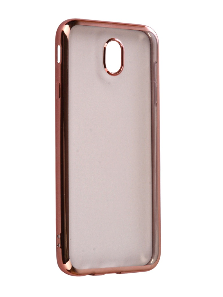 Аксессуар Чехол для Samsung Galaxy J7 2017 iBox Blaze Silicone Pink frame аксессуар чехол ibox blaze silicone для apple iphone xr silver frame ут000016110 page 5 page 9