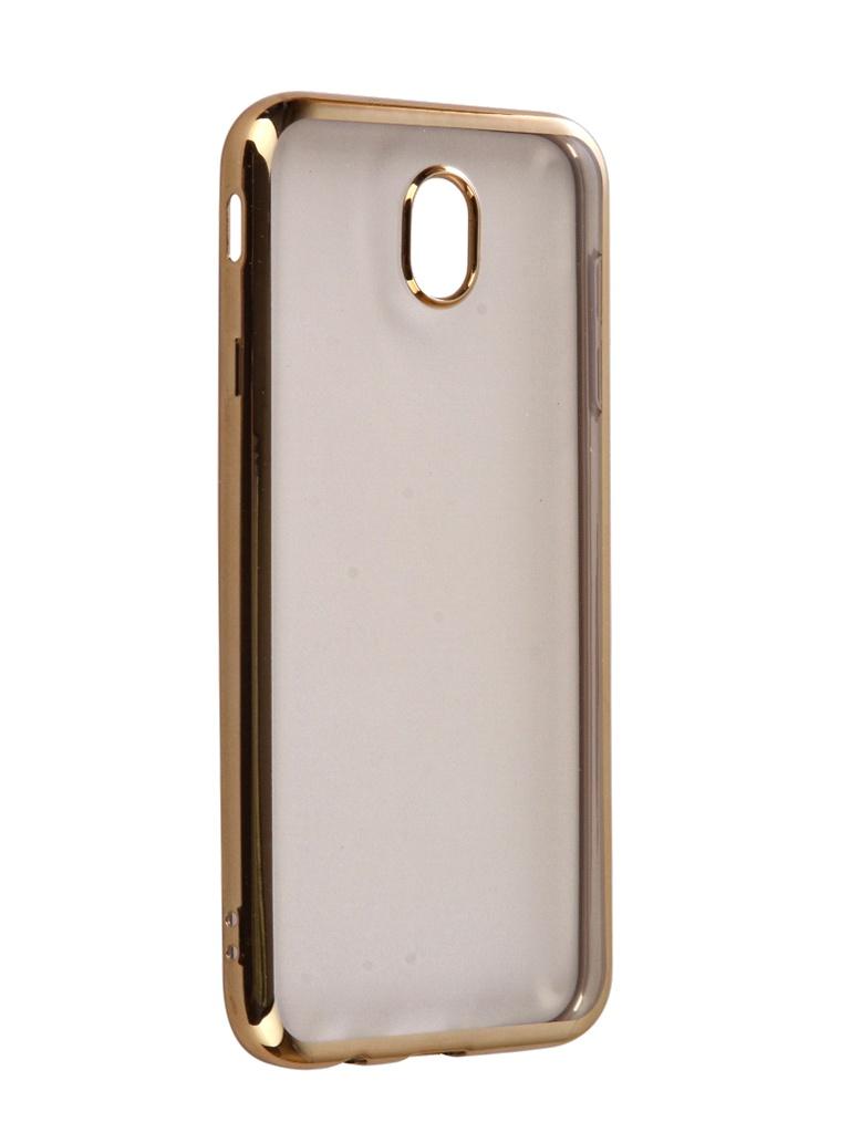 Аксессуар Чехол iBox Blaze Silicone для Samsung Galaxy J7 2017 Gold frame аксессуар чехол ibox blaze silicone для apple iphone xr silver frame ут000016110 page 5 page 9