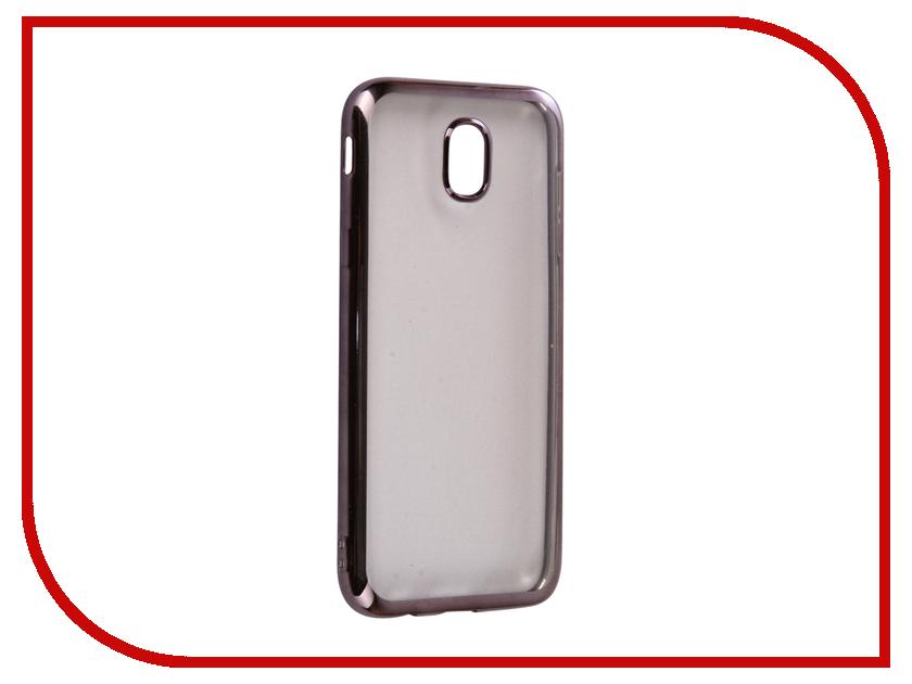Аксессуар Чехол Samsung Galaxy J5 2017 iBox Blaze Silicone Black frame аксессуар чехол xiaomi redmi 3 3s 3 pro ibox blaze silicone gold frame