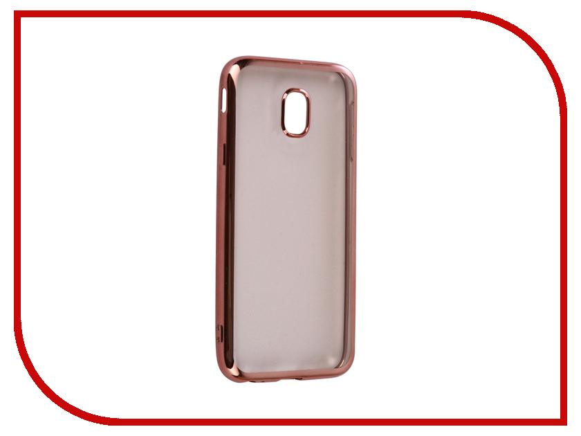 Аксессуар Чехол для Samsung Galaxy J5 2017 iBox Blaze Silicone Pink frame цена