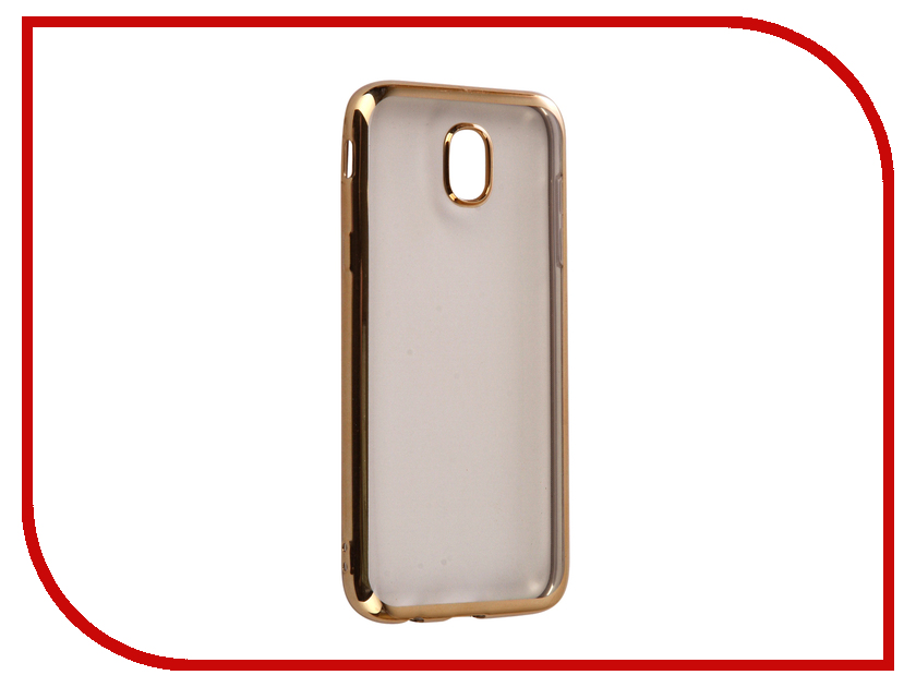 Аксессуар Чехол для Samsung Galaxy J5 2017 iBox Blaze Silicone Gold frame аксессуар чехол samsung galaxy j5 2016 cojess ultra slim book экокожа light gold