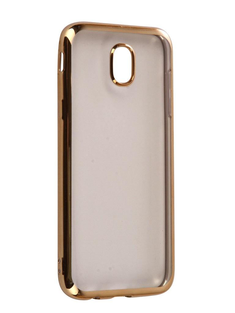 Аксессуар Чехол iBox Blaze Silicone для Samsung Galaxy J5 2017 Gold frame аксессуар чехол onext для samsung galaxy j5 2017 silicone transparent 70516