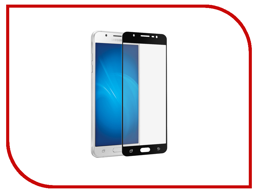 Аксессуар Защитное стекло для Samsung Galaxy J7 2017 Red Line Full Screen Tempered Glass Black УТ000011466