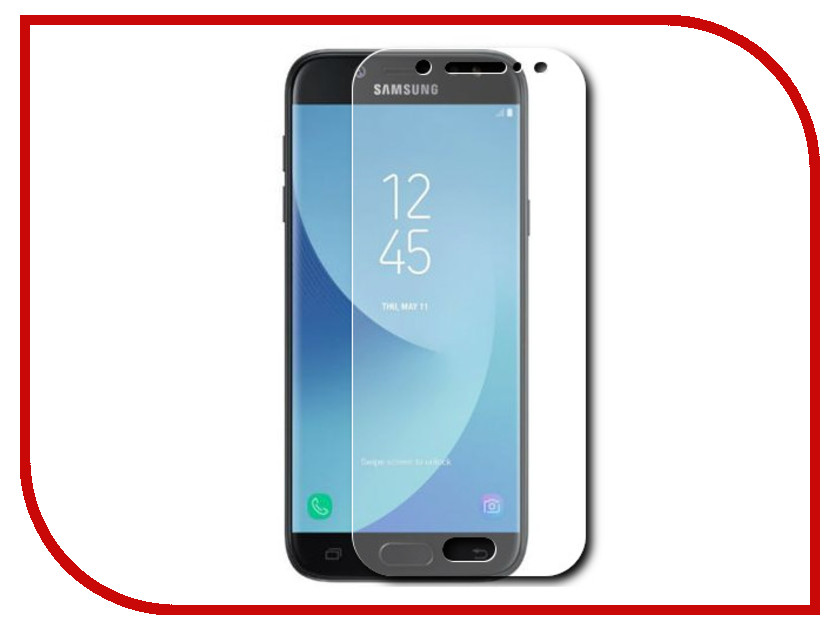 Аксессуар Защитное стекло Samsung Galaxy J5 2017 Red Line 0.2mm Tempered Glass j фаска grand line коричневая