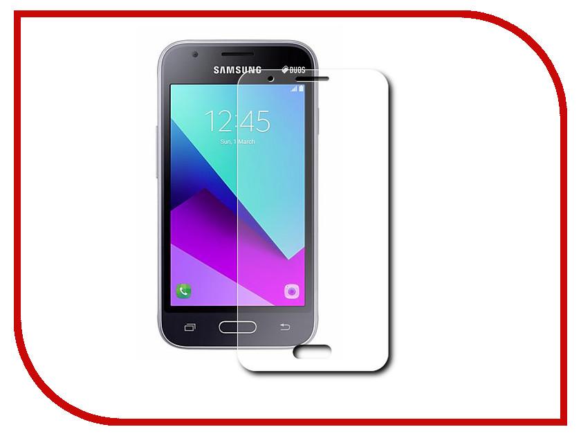 Аксессуар Защитное стекло Samsung Galaxy J1 mini Prime 2017 Red Line 0.2mm Tempered Glass j фаска grand line коричневая