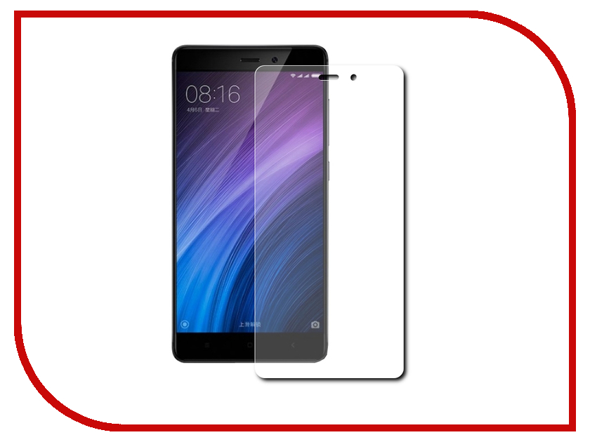 Аксессуар Защитное стекло Xiaomi Redmi 4A 5-inch Red Line 0.2mm Tempered Glass аксессуар защитное стекло samsung galaxy j7 neo 5 5 0 33mm red line tempered glass