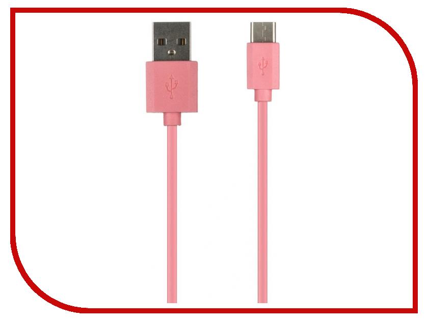 Аксессуар Red Line USB - Type-C Pink аксессуар red line smart high speed usb type c white