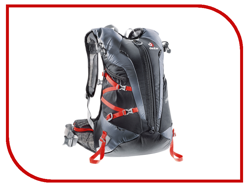 Велорюкзак Deuter 2017-18 Pace 20 Black-Titan 3300015_7490