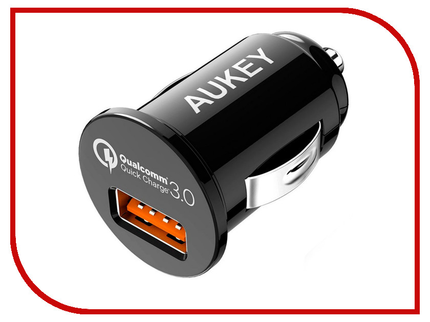Зарядное устройство Aukey 1xUSB CC-T13 зарядное устройство aukey 4xusb cc t9