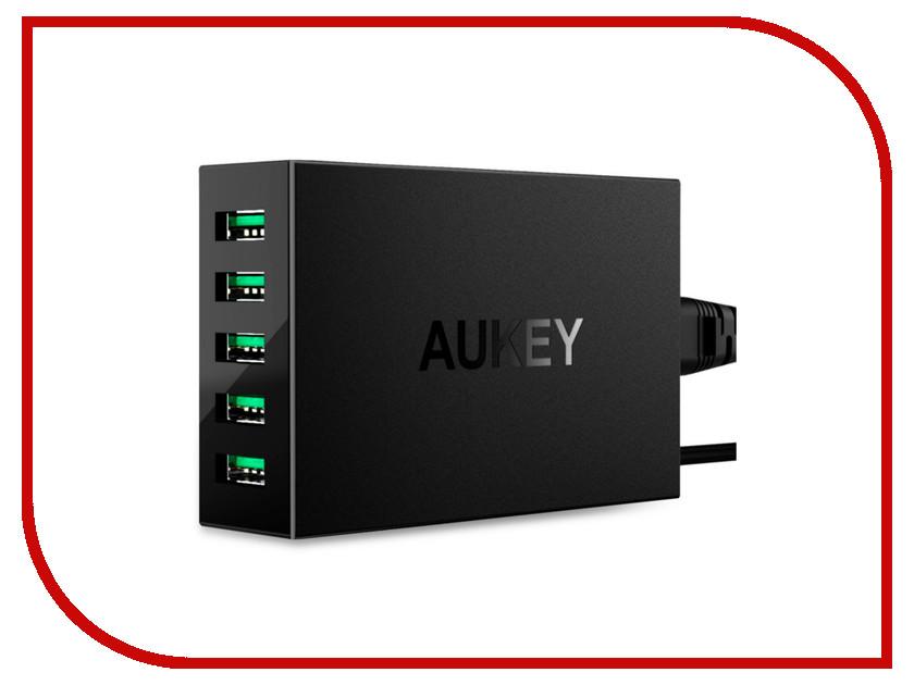Зарядное устройство Aukey PA-U33 Black зарядное устройство aukey 4xusb cc t9
