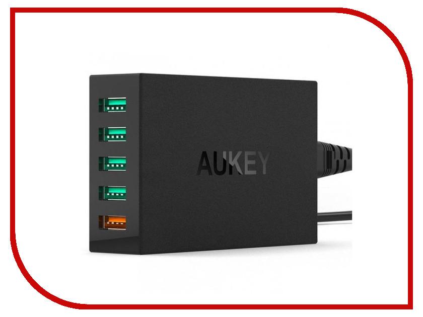 Зарядное устройство Aukey PA-T15 Black зарядное устройство orient pa 06 12v dc 3a orient pa 06