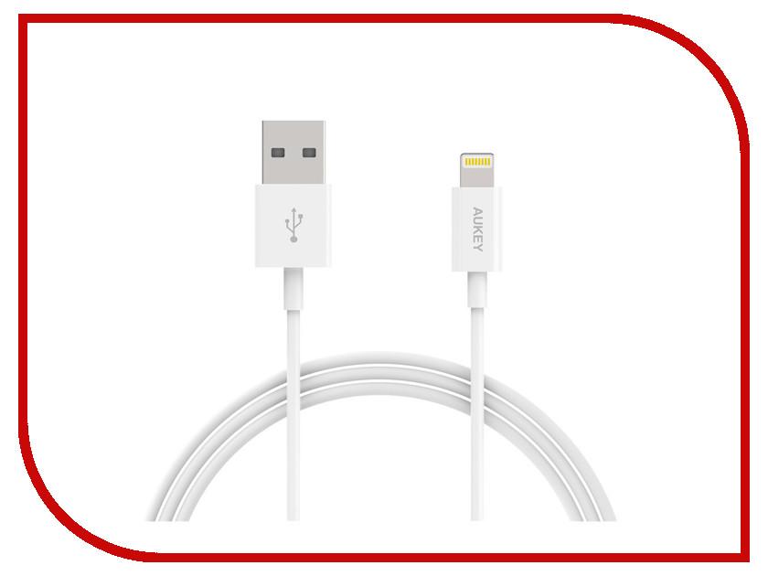 Аксессуар Aukey USB - Lightning 1m White CB-D20 держатель aukey hd c13