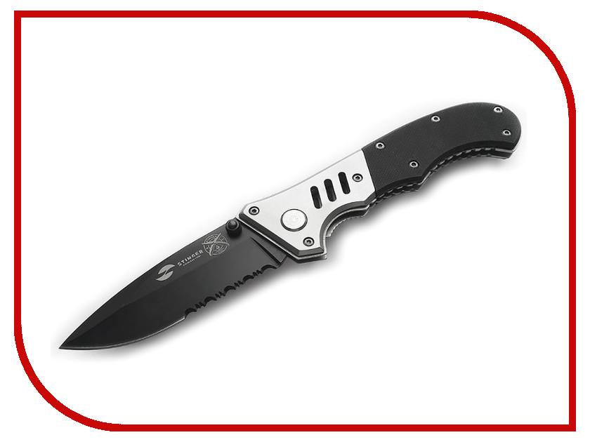 Нож Stinger FK-H152GG Silver-Black - длина лезвия 80мм