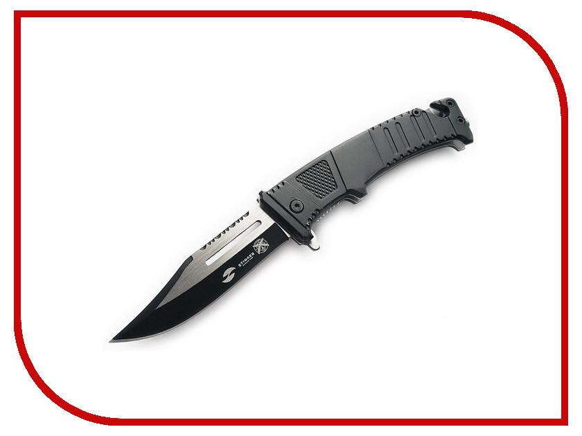 Нож Stinger FK-611B Black-Silver - длина лезвия 95мм нож stinger lk 3250bfl