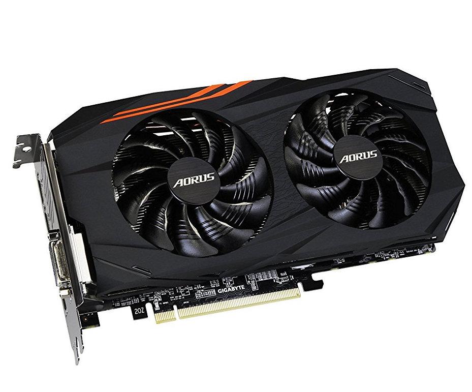 Видеокарта GigaByte Radeon RX 580 1340Mhz PCI-E 3.0 4096Mb 7000Mhz 256 bit DVI HDMI DP HDCP GV-RX580AORUS-4GD видеокарта 4096mb gigabyte geforce gtx970 pci e 256bit gddr5 dvi hdmi hdcp gv n970wf3oc 4gd retail