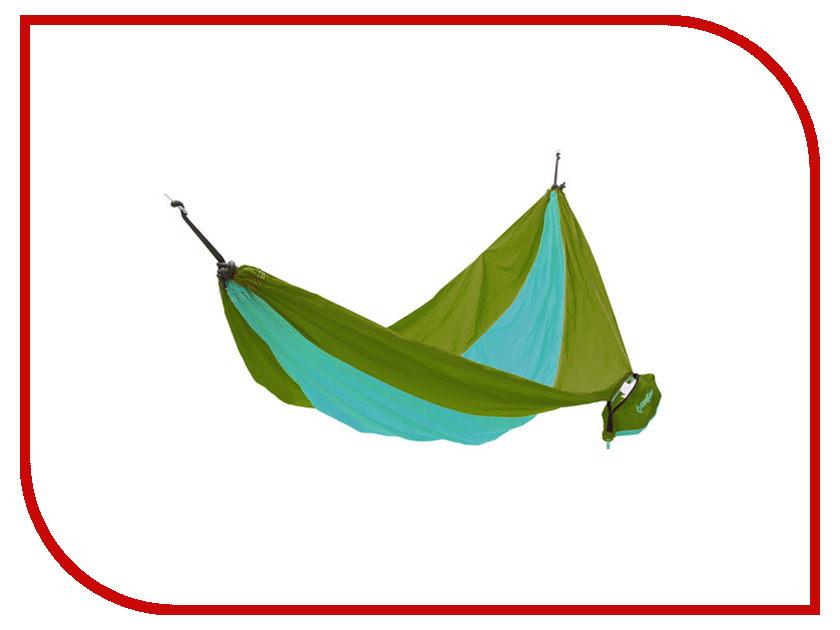 Гамак KingCamp Parachute Hammock Green-Turquoise 3753