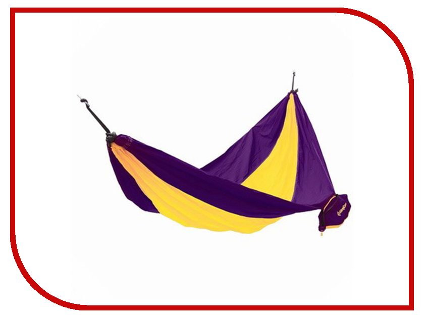 Гамак KingCamp Parachute Hammock Purple-Yellow 3753