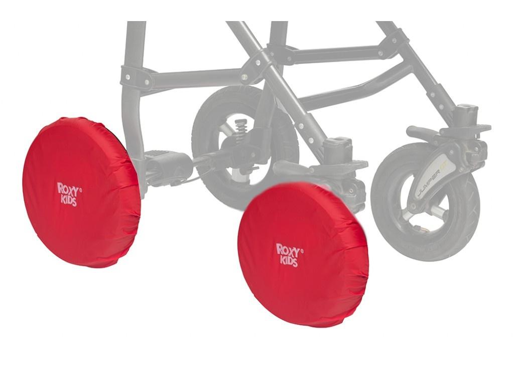 Чехлы на колеса коляски Roxy-Kids Red RWC-030-R